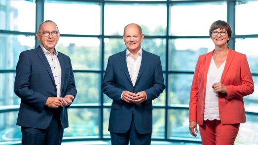Olaf Scholz the SPD's Candidate For Chancellor