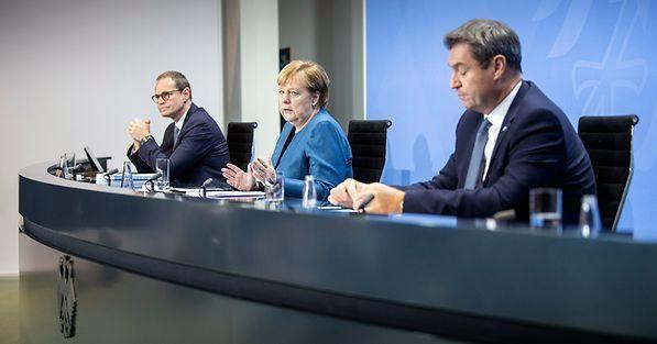 """Corona: per la Germania è l'ora di uno """"sforzo nazionale"""""""
